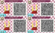 My Melody Face Board Animal Crossing New Leaf Qr Code