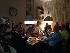 The dinner on Friday night, Madrid October 2015 Friday, Madrid, October, Painting, Dinner, Night, Decor, Dining, Decoration