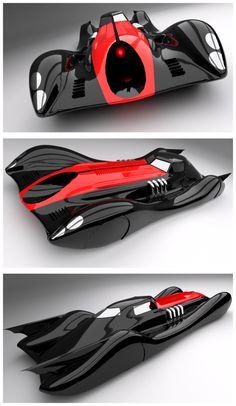 Decopunk Batmobile by Pixel-pencil. Batman Art, Batman Comics, Hot Wheels, Batman Redesign, Batman Batmobile, Batman Universe, Futuristic Cars, Future Car, My Ride