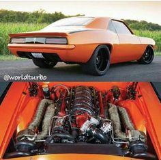 Twin turbo '69 Camaro...