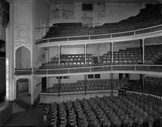 Academy Building, Fall River Massachusetts VIEW OF AUDITORIUM LOOKING EAST FROM MIDDLE BALCONY
