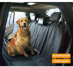 sky-blue Bright Durable Car Pet Foldable Seat Cover Waterproof Scratchproof Dog Protector Hammock Terrific Value