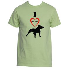 I Love Pit Bull T-Shirts, Tees & Shirt | Underground Statements