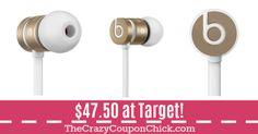 **SUPER HOT** Beats urBeats in Ear Wired Headphones ONLY $47.50 (Originally $100) at Target! Target Deals, Beats, Headphones, Hot, Headpieces, Ear Phones