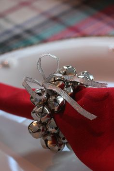 DIY Jingle Bell Napk