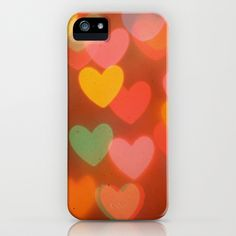 Heart Bokeh iPhone & iPod Case