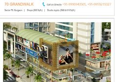 Tapasya Group had launching their Commercial project, Tapasya 70Grandwalk, in Gurgaon with an investment of Booking amount 4lac. http://goo.gl/JFPQBJ