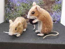 Needle Felted Animal - Mice