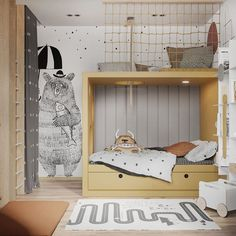 - c h i l d s p a r a d i s e - Kinderzimmer Ideen Baby Decor, Kids Decor, Cool Kids Rooms, Kids Bedroom Furniture, Furniture Dolly, Kids Room Design, Baby Bedroom, Bedroom Boys, Kid Spaces