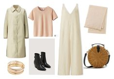 """""""Pretty in Pink"""" by aneeqlondon on Polyvore featuring MANGO, Uniqlo, Mudd and modestfashion"""