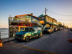 Dock Street Cedar Key Florida April 2015
