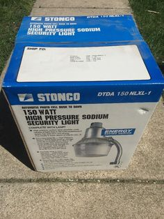 Stonco Floodpak High Pressure Sodium Floodlight 150 Watt HPS Bronze Fps150nlxl-1