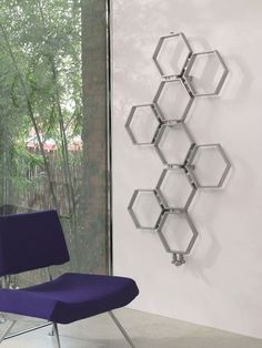 8cf702bce77f The Aeon Honeycomb radiator is a fantastic piece of art comprising of a  honeycomb hexagon structure. This radiator which is finished in brushed  stainless ...