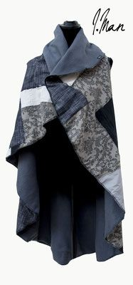 """poncho """"swiss legacy"""" poncho from re-souled cords, original swiss army blanket lining from the reversible, one size, handmade single-item € Swiss Army, Cords, Blanket, The Originals, Winter, Handmade, Outfits, Fashion, Ponchos"""