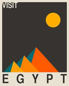 kampagne plakat graphic campaign odditiesoflife: Clever Graphic Art Travel Posters These. Graphic Design Illustration, Graphic Art, Illustration Art, Graphic Posters, Plakat Design, Visit Egypt, Egypt Art, Art Graphique, Vintage Travel Posters