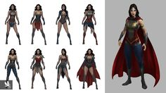 Injustice 2 has some crazy costumes, but it could've been even crazier! Join CBR as we sift through early designs for the characters in the game. Character Design Sketches, Character Design Cartoon, Character Design Inspiration, Character Art, Fantasy Angel, Fantasy Warrior, Crazy Costumes, Super Hero Costumes, Wonder Woman Art