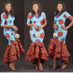 Latest Ankara Styles For Church African American Fashion, Latest African Fashion Dresses, African Print Fashion, Africa Fashion, Short Ankara Dresses, African Print Dresses, African Dress, African Attire, African Wear