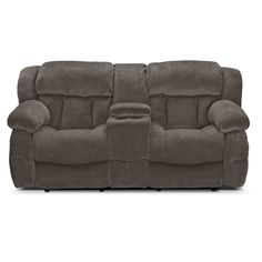 80 Cranberry Microfiber Power Reclining Console Loveseat Furniture Pinterest Cranberries