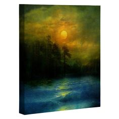 Viviana Gonzalez Hope In The Blue Water Art Canvas | DENY Designs Home Accessories