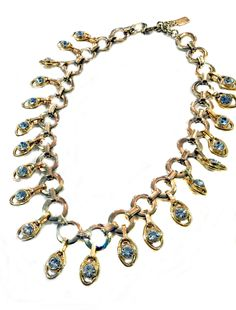 Rhinestone Evil Eye Pendants, Gilded Disk and Link Collar. Evil Eye Pendant, Jewelry Design, Pendants, Eyes, Bracelets, Hang Tags, Pendant, Bracelet, Cat Eyes