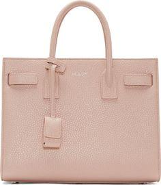 Saint Laurent - Pink Baby Sac du Jour Tote Bag