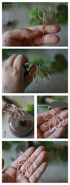 Wired leaf #wirejewelry