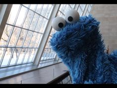 Cookie Monster reads profound, food-related shower thoughts