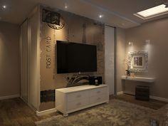 Дизайн интерьера и мыслетворчество.: Интерьер квартиры для молодого парня. Спальня (второй вариант)