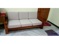 Buy Winster L-Shaped Wooden Sofa (Warm Grey, Walnut Finish) Online in India - Wooden Street Corner Sofa Wooden, Wooden Sofa Designs, Sofa Bed Design, Wooden Street, L Shaped Sofa, Best Sofa, Warm Grey, Walnut Finish, Seat Covers