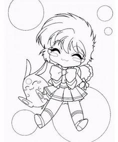 Magic knight Rayearth coloring page 11