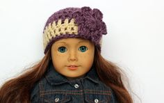 AG Hat Doll Beanie Doll Clothing Doll by CreativeDollCrafts