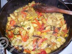 Paella, Chicken, Meat, Ethnic Recipes, Food, Essen, Meals, Yemek, Eten