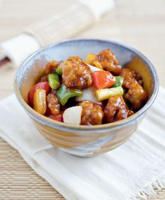 Today I am honored to share this incredible sweet and sour recipe from Bee of Rasa Malaysia.