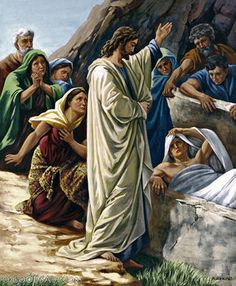"""""""Lazarus's sickness will not end in death. No, it happened for the glory of God so that the Son of God will receive glory from this.""""   John 11:4"""