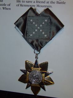 Confederate Medal of Honor | Flickr - Photo Sharing!
