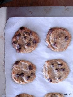 coconut flour cookie chocolate chip banana cookie