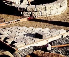 Get ready for months of outdoor entertaining around your own ring of fire. Build an easy fire pit your whole family will enjoy for years to come. Make A Fire Pit, Easy Fire Pit, Outdoor Rooms, Outdoor Decor, Outdoor Entertaining, Stepping Stones, Pergola, Easy Diy, Home Improvement