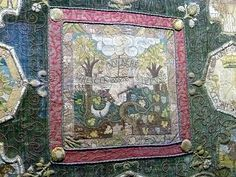 Another beautiful piece of needlework by Mary, Queen of Scots.