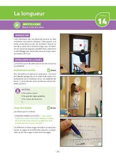 Une activité détaillée pour découvrir et comprendre la notion de longueur au cycle 2. Cycle 2, Maths, School, Elementary Schools, Notebook, Childhood, Exercise, Schools
