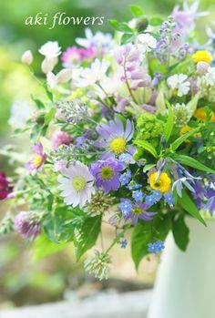 高原のブーケ|Relax with flowers * AKI FLOWERS @ 国立
