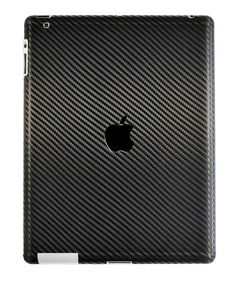 iPad 3 Black Carbon Fiber Front and Back Skin by by iCoverSkin, $24.95