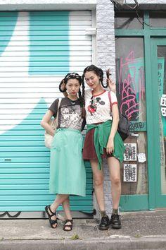 [Street Style] 小谷実由 & Shen | Harajuku (Tokyo)