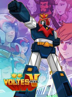 Voltes V - Official v8 [Mod]   Voltes V - Official v8 [Mod]Requirements:4.1 and upOverview:Play as Steve and fight alongside Mark Big Bert Jaime and Little John to save the earth from Prince Zardoz and the rest of the Boazanian army!   Help Steve battle Boazanian minions and navigate his way towards his teammates.  Rescue your team mates volt in and summon the famous super robot Voltes V!  Use Voltes V's signature moves against the Boazanian beast fighters!  Collect coins and upgrade the…