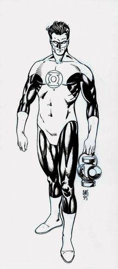 Hal Jordan, Green Lantern of Sector 2814 by Paul M. Smith