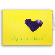 I heart Acupuncture on Zazzle