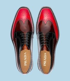 """Prada  shoes The beauty of this industry is that there continues to be brands that ask """"Why not?""""….."""
