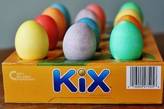 10 Tips for Coloring Easter Eggs with Toddlers · Kix Cereal