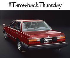 #TBT: 1985 Honda Accord