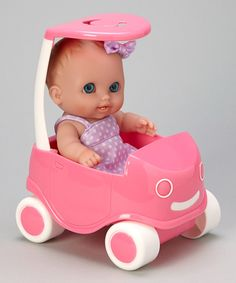 Take a look at this JC Toys Lil' Cutesies Lulu Doll & Buggy on zulily today!