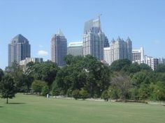Atlanta - Piedmont Park  One of my favorite places to go for some peace, quiet, and to enjoy the outdoors in the big city. Great festivals throughout the year - including Pride in October.